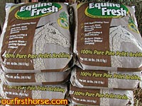 Equine Fresh horse bedding